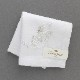 ポワンポワン ベトナム手刺繍ハンカチ 6503-10 ホワイト