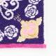 劇場版「美少女戦士セーラームーンEternal」 × ANNA SUI タオルハンカチ 0702 パープル 【アナスイ ANNA SUI】