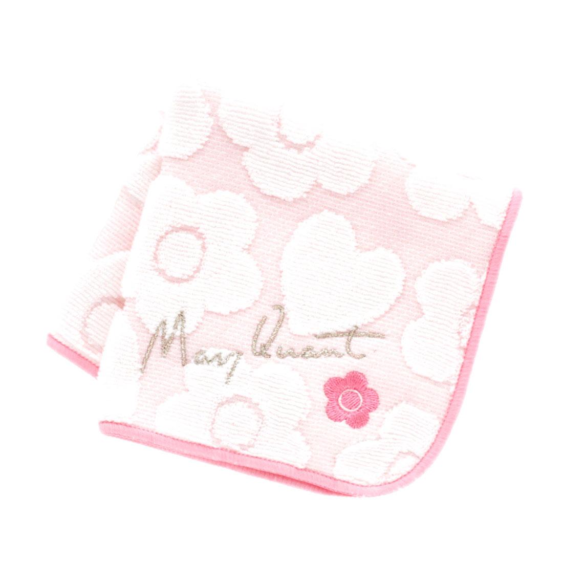 マリークヮント タオルハンカチ 1503 ピンク 【MARY QUANT】 マリークワント マリクワ