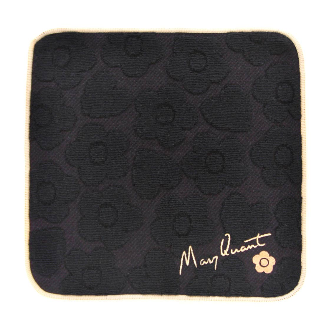 マリークヮント タオルハンカチ 1503 ブラック 【MARY QUANT】 マリークワント マリクワ