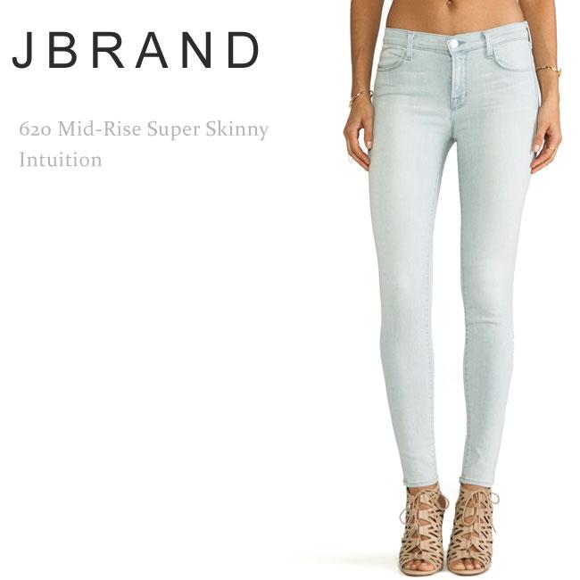 J Brand(ジェイブランド・ジェーブランド) 620 Mid-Rise Super Skinny Intuition スキニーデニム