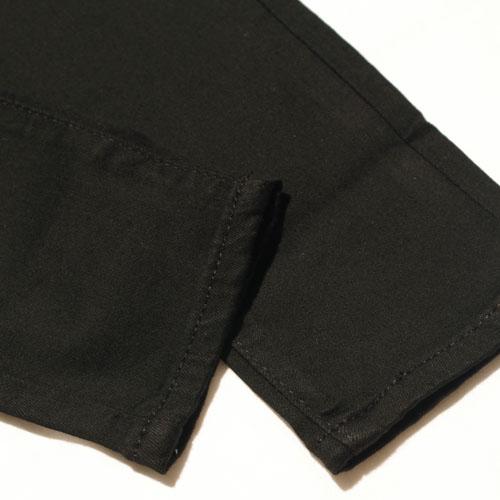 Levi's (リーバイス) 711 SKINNY Soft Black ブラックスキニー