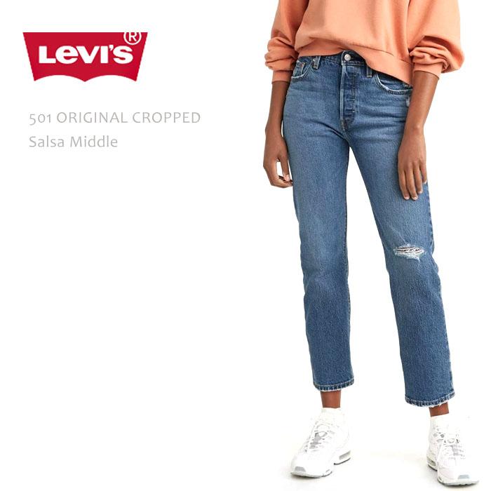 Levi's Premium (リーバイスプレミアム)501 ORIGINAL CROPPED Salsa Middle クロップドストレート