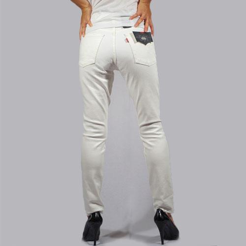 Levi's Premium (リーバイスプレミアム)501 HIGH RISE SKINNY LEG Cloud Over ホワイトスキニー