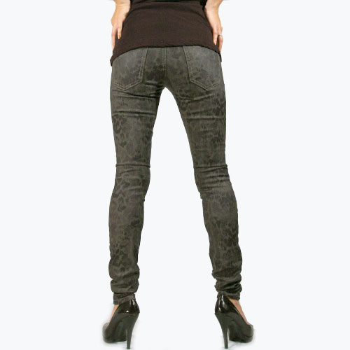 Current Elliott(カレントエリオット) THE ANKLE Skinny Castle Dirty Paws スキニーパンツ