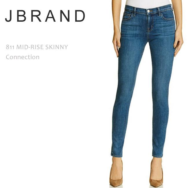J Brand(ジェイブランド・ジェーブランド)811 MID RISE SUPER SKINNY Connection スキニーデニム
