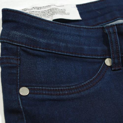 Cheap Monday(チープマンデー) MID SPRAY MID-RISE SKINNY Solid Blue スキニーデニム