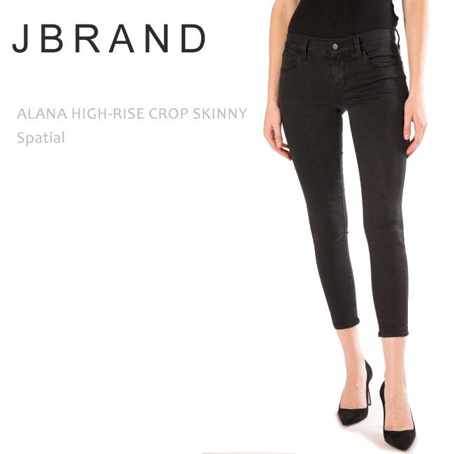 J Brand (ジェイブランド・ジェーブランド) ALANA HIGH RISE CROPPED SKINNY Spatial スキニーデニム