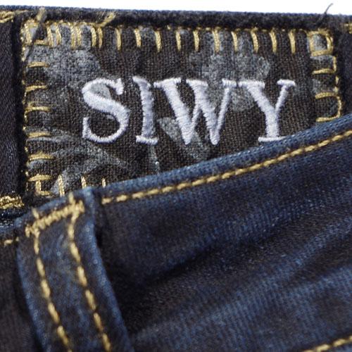 Siwy(シィーウィー) LYNETTE MID RISE SKINNY Virtual Stranger スキニーデニム