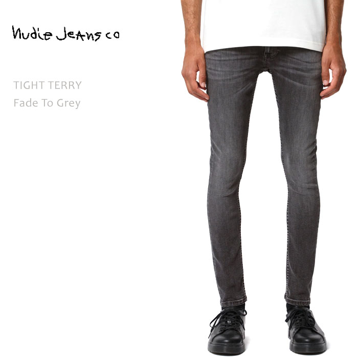 NUDIE JEANS(ヌーディー ジーンズ) TIGHT TERRY Fade to Grey タイトテリー タイトレッグ