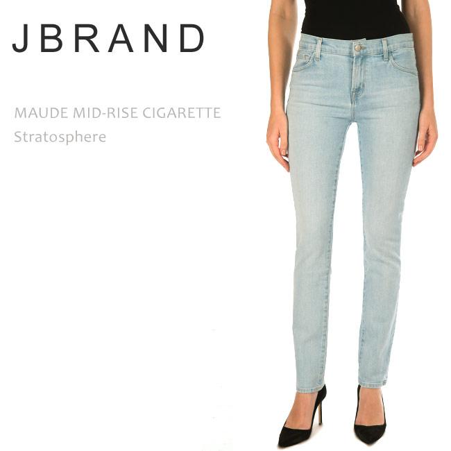 J Brand (ジェイブランド・ジェーブランド) MAUDE MID RISE CIGARETTE Stratospher シガレットデニム