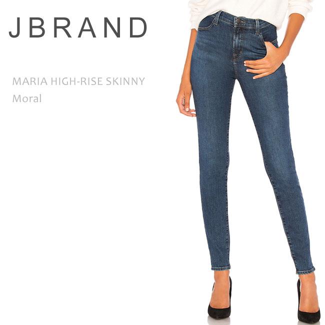 J Brand (ジェイブランド・ジェーブランド) MARIA HIGH RISE SKINNY Moral ハイウエストスキニー