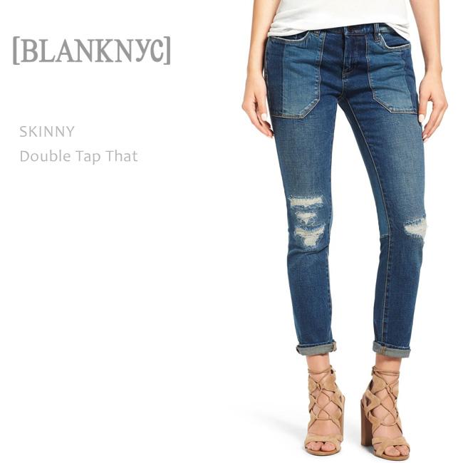 BLANK NYC(ブランクニューヨークシティー) SKINNY CLASSIQUE Double Tap That スキニーデニム