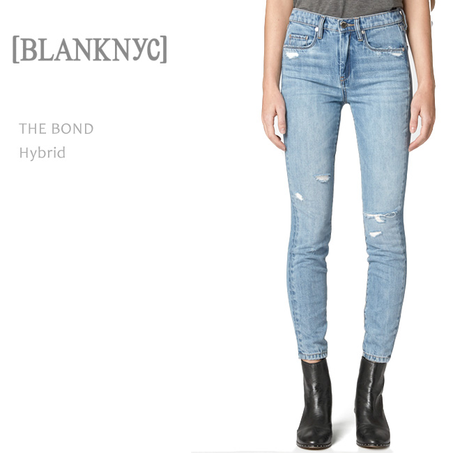 BLANK NYC(ブランクニューヨークシティー) THE BOND SKINNY Hybird スキニーデニム