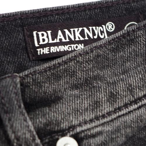 BLANK NYC(ブランクニューヨークシティー) THE RIVINGTON HIGH RISE TAPERED Before&After ハイライズデニム