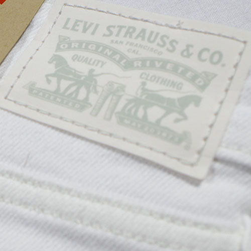 Levi's (リーバイス) 711 SKINNY Soft Clean White ホワイトスキニー 【再入荷】