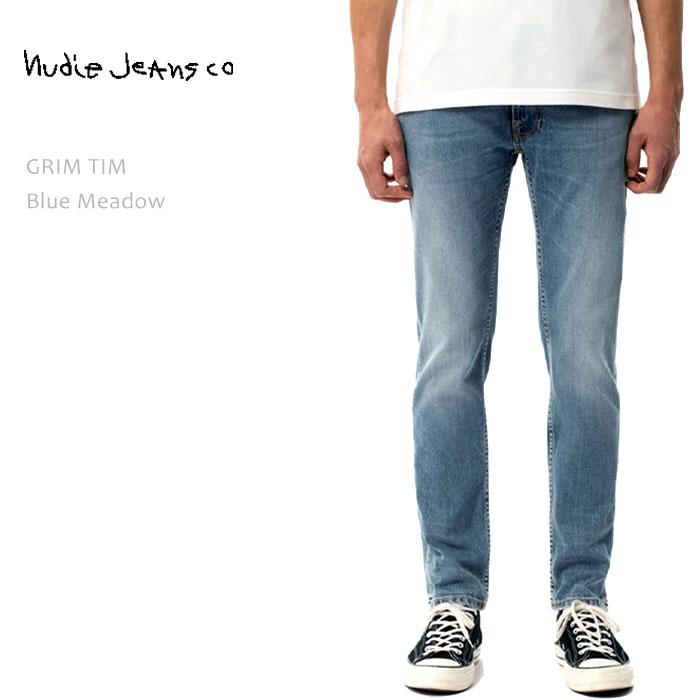 NUDIE JEANS(ヌーディー ジーンズ) GRIM TIM Blue Meadow
