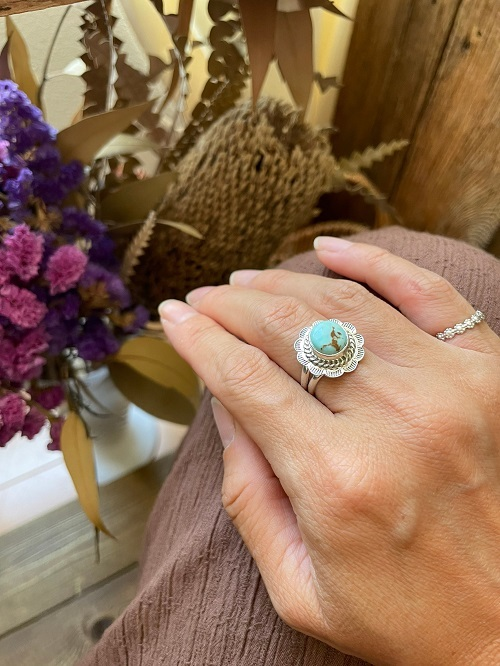 <Indian Jewelry>DryCreekTurquoiseRing