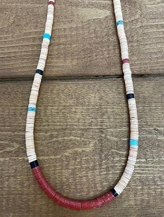 <Indian Jewelry>BeigeHishilNecklace65