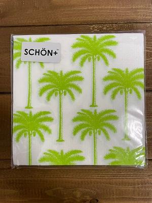<SCHON>GreenPalmPaperNapkin