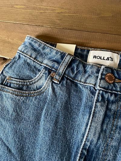 <ROLLA'S>CROP FLARE DENIM