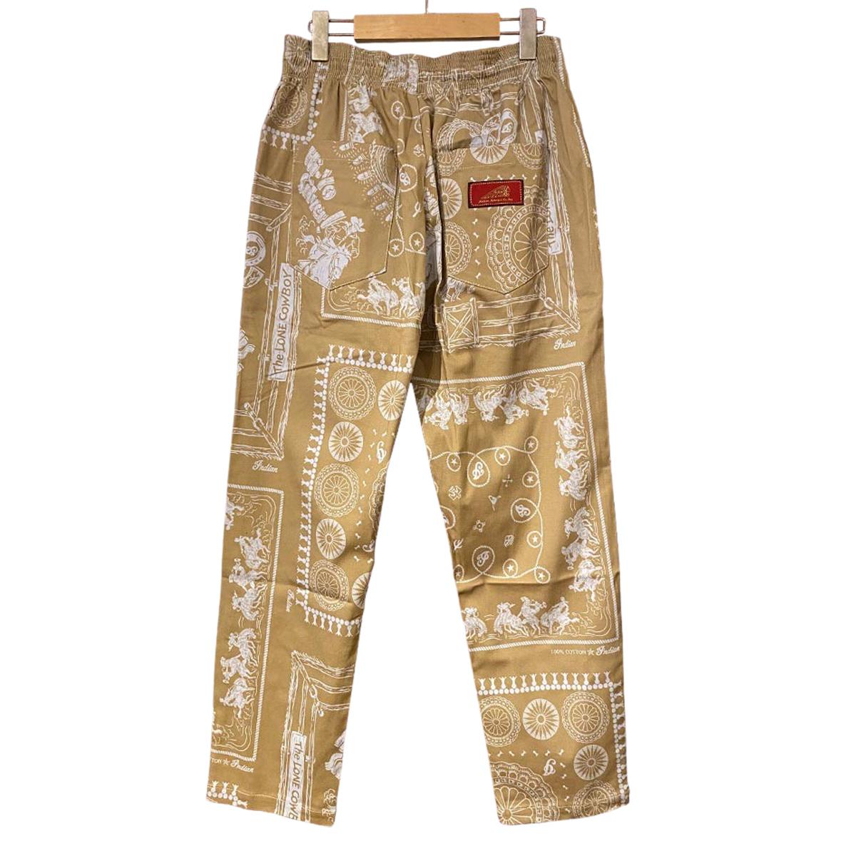 Indian インディアン Garage Pants バンダナパッチワーク