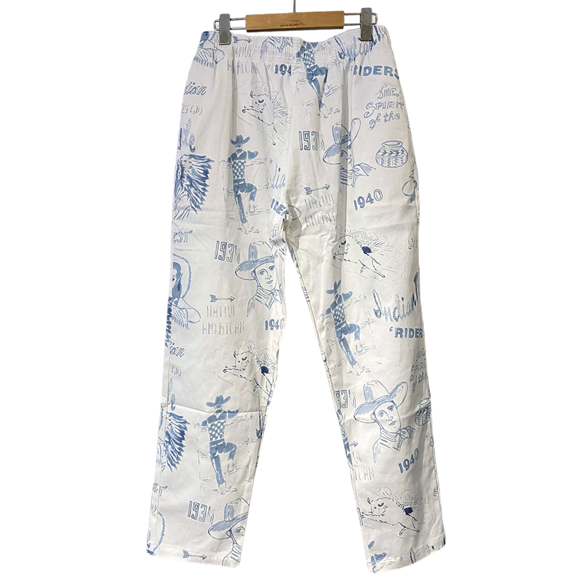 Indian インディアン Garage Pants ハンドペイント