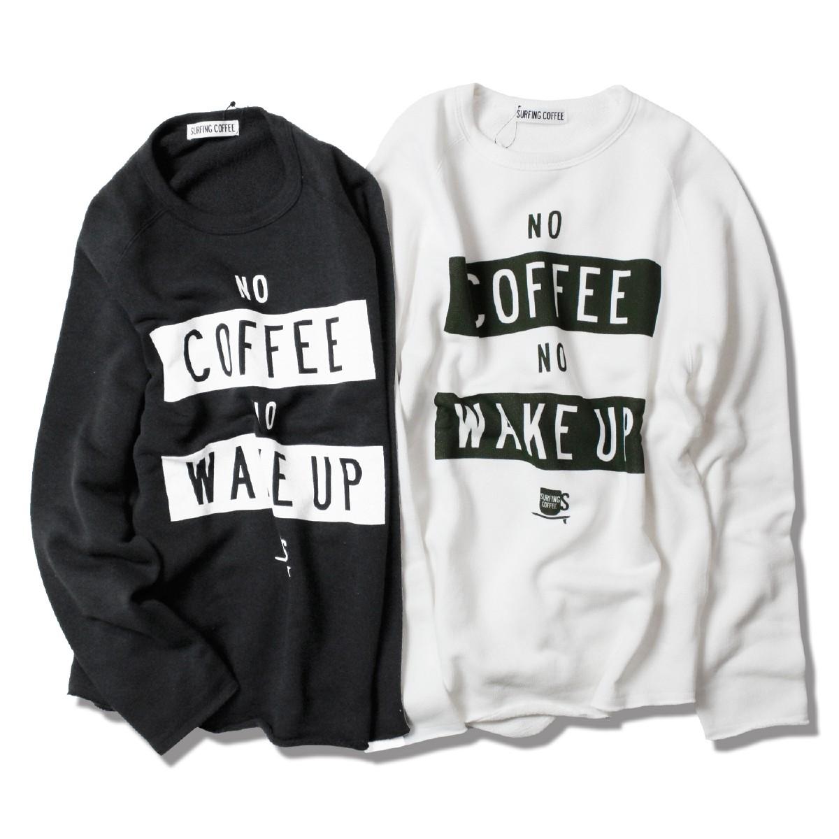Surfing Coffee サーフィンコーヒー WAKEUP ROUND SWEAT