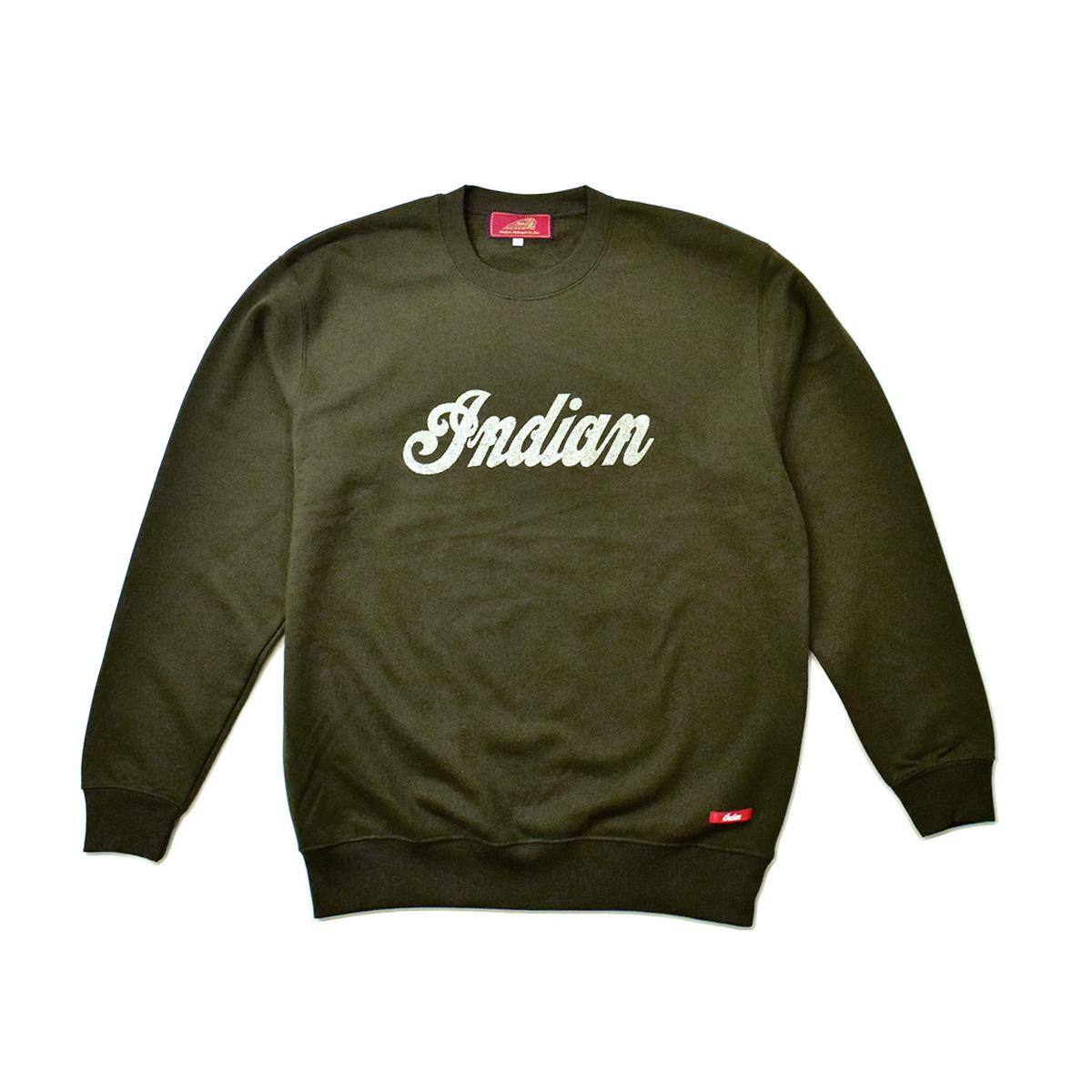 Indian インディアン ベーシック ロゴスウェット