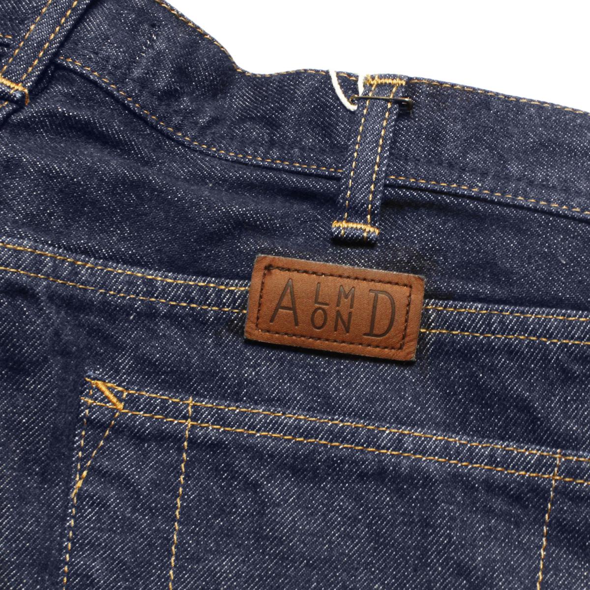 Almond Surf アーモンドサーフボードデザイン ORGANIC DENIM PANTS