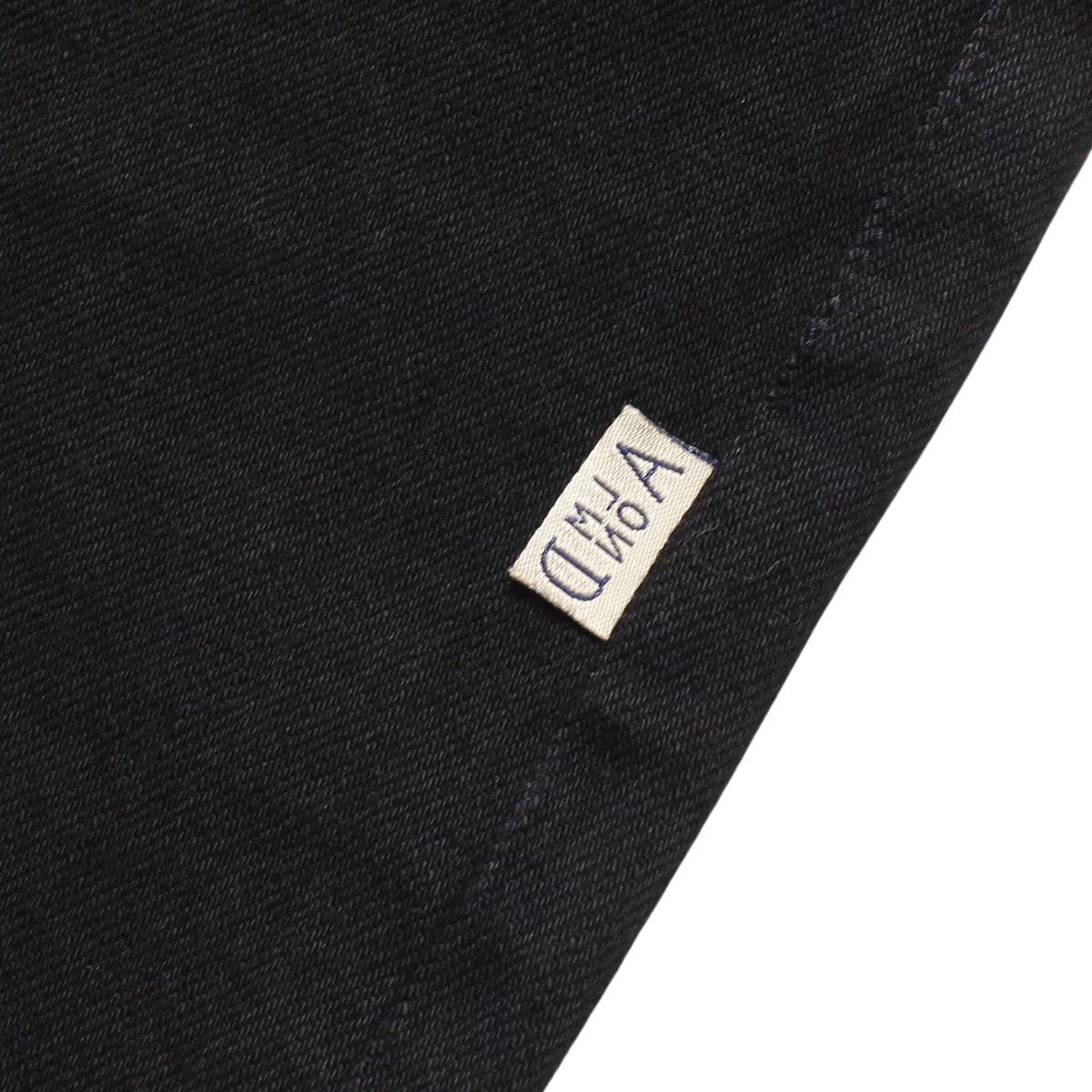 Almond Surf アーモンドサーフボードデザイン BLACK DENIM PANTS