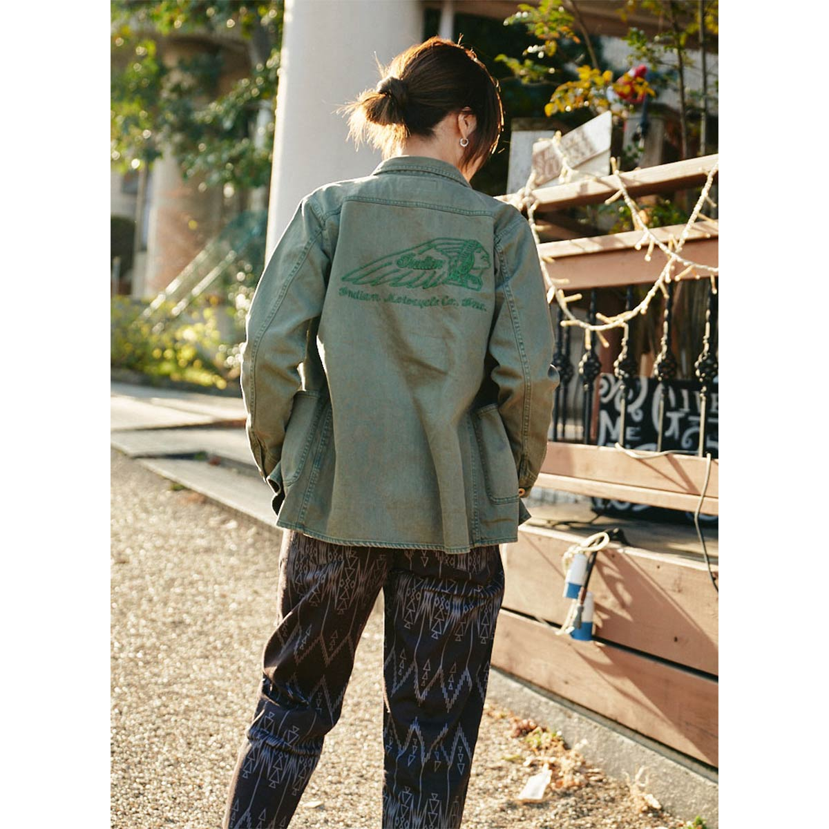 Indian インディアン Basic Coverall Jacket
