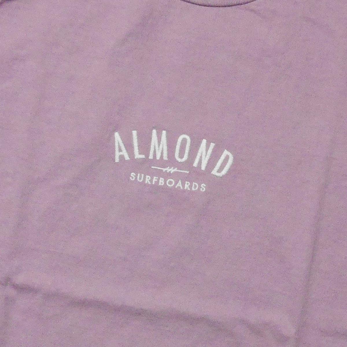 Almond Surf アーモンドサーフボードデザイン FINESURFING EMB S/S TEE