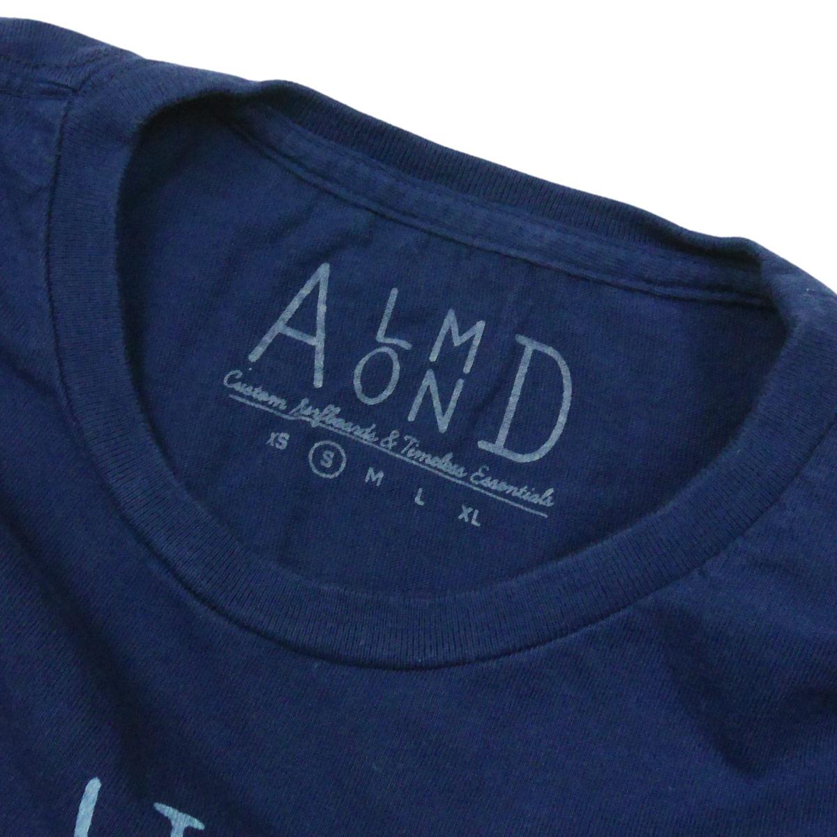 Almond Surf アーモンドサーフボードデザイン KEEP IT SIMPLE S/S TEE