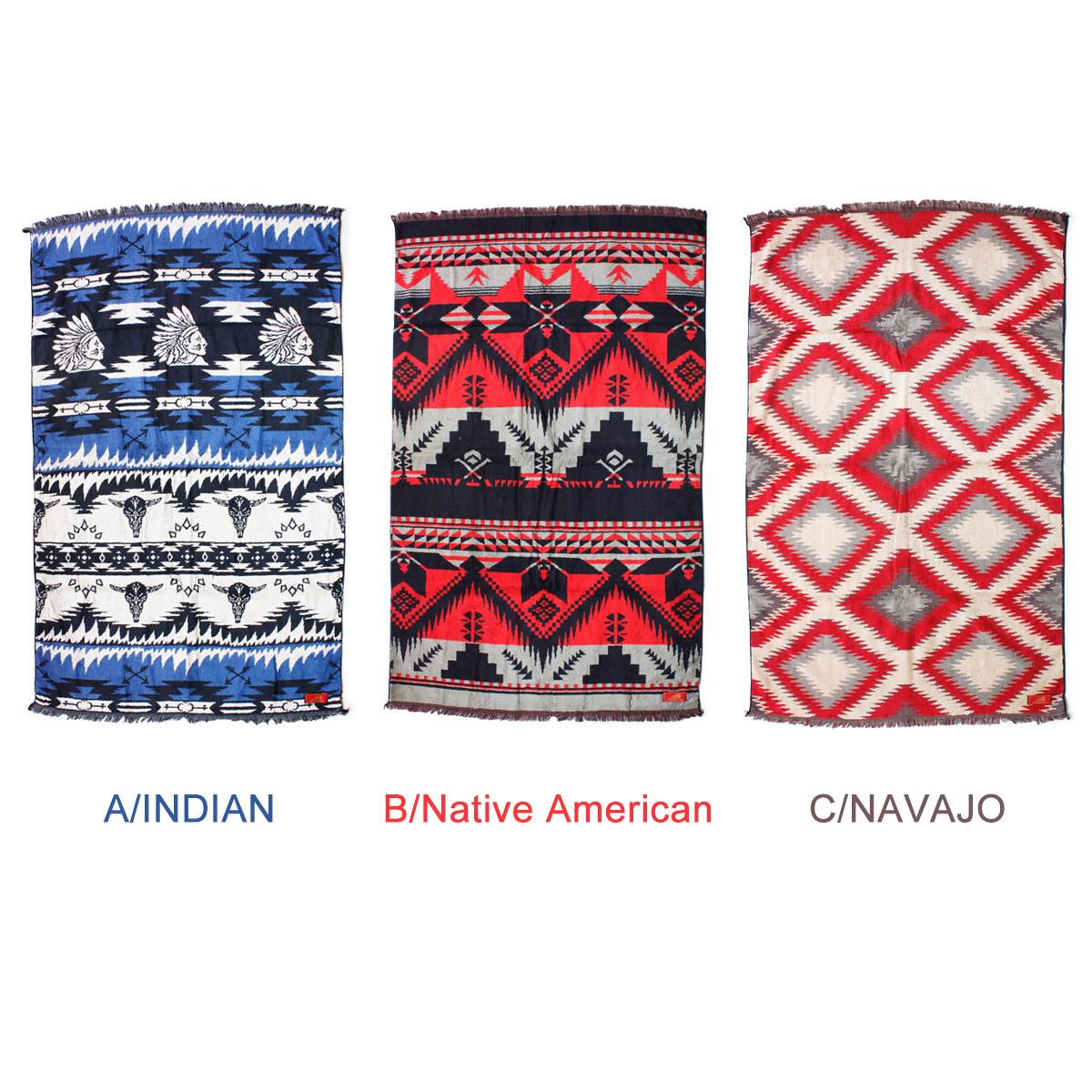Indian インディアン ネイティブ ブランケットタオル