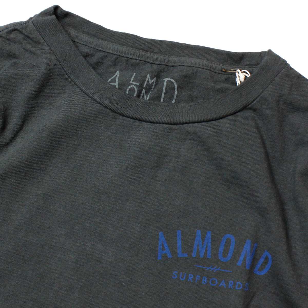 Almond Surf アーモンドサーフボードデザイン DIAMOND A LOGO L/S T-SHIRTS
