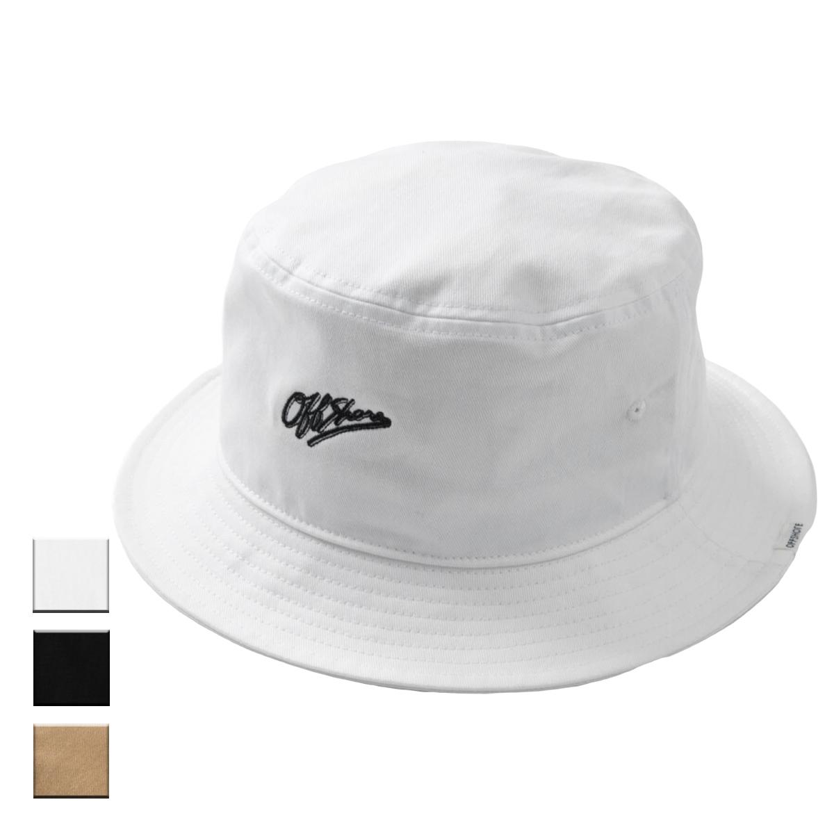 OFFSHORE オフショア AECHIVE LOGO BUCKET HAT