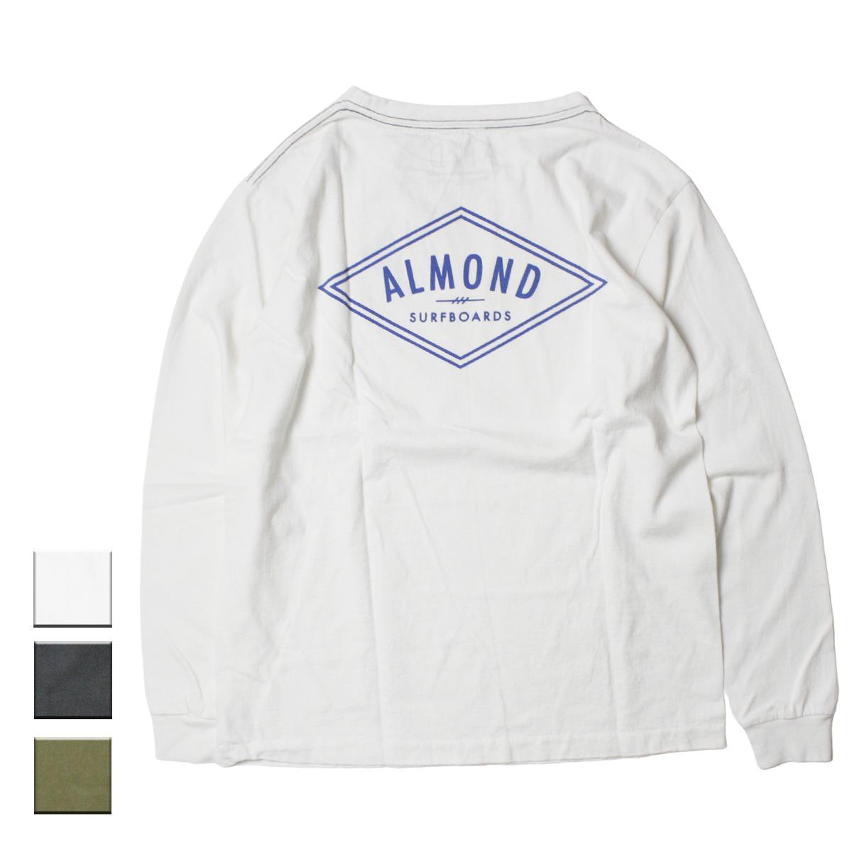 Almond Surf アーモンドサーフボードデザイン DECADES L/S T-SHIRTS