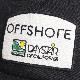 OFFSHORE オフショア OFFSHORE LOGO PATCH CAP