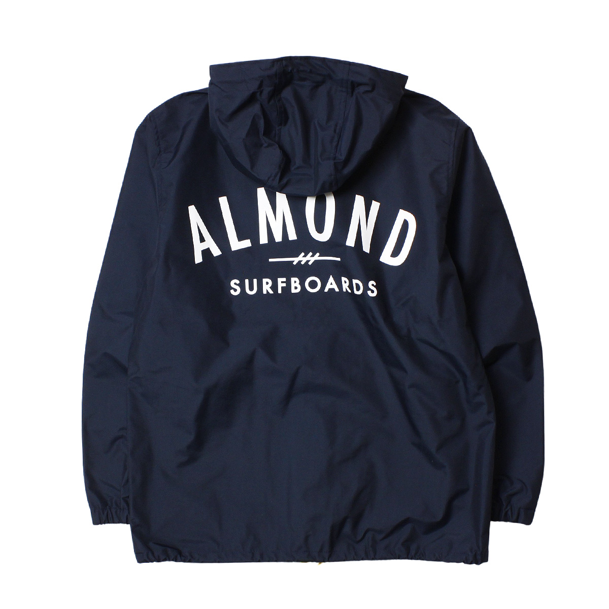 Almond Surf アーモンドサーフボードデザイン MOUNTAIN SNAP JACKET