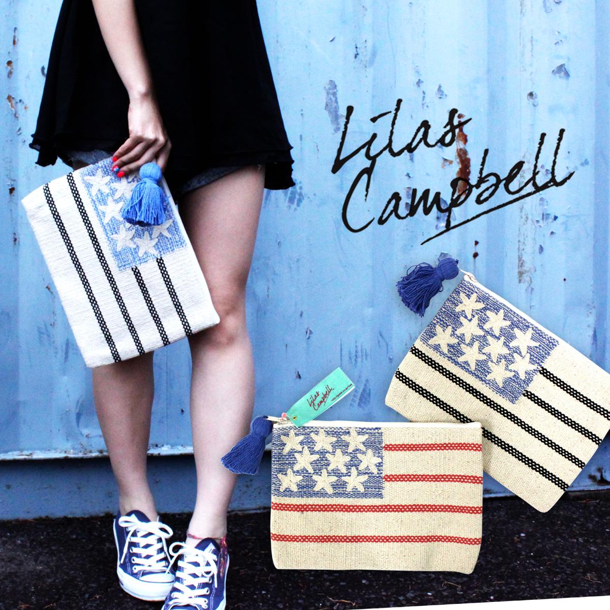 【23%OFF】Lilas Campbells リラキャンベル 2WAY CLUTCH BAG VINTAGE LAG