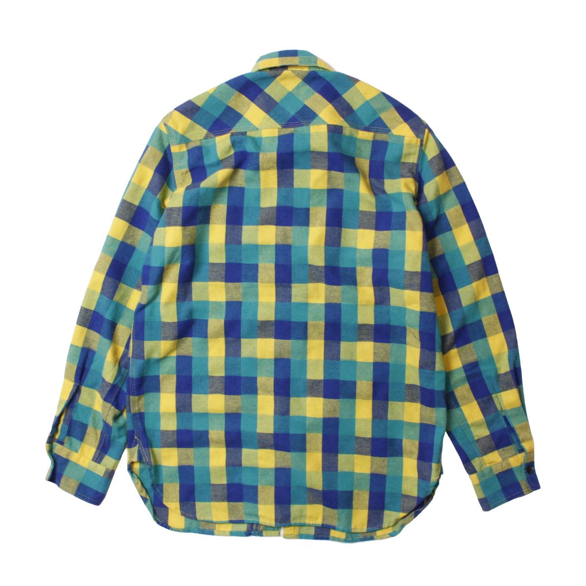 BACK HEAD バックヘッド ライトネルワークシャツ