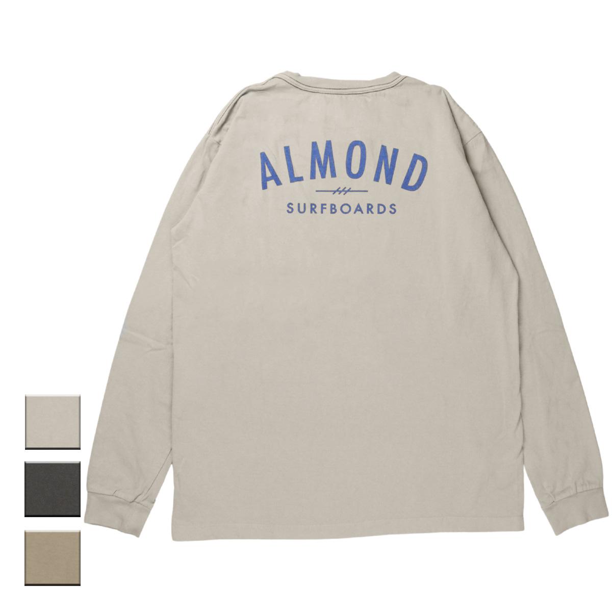 Almond Surf アーモンドサーフボードデザイン FINESURFING BP L/S TEE