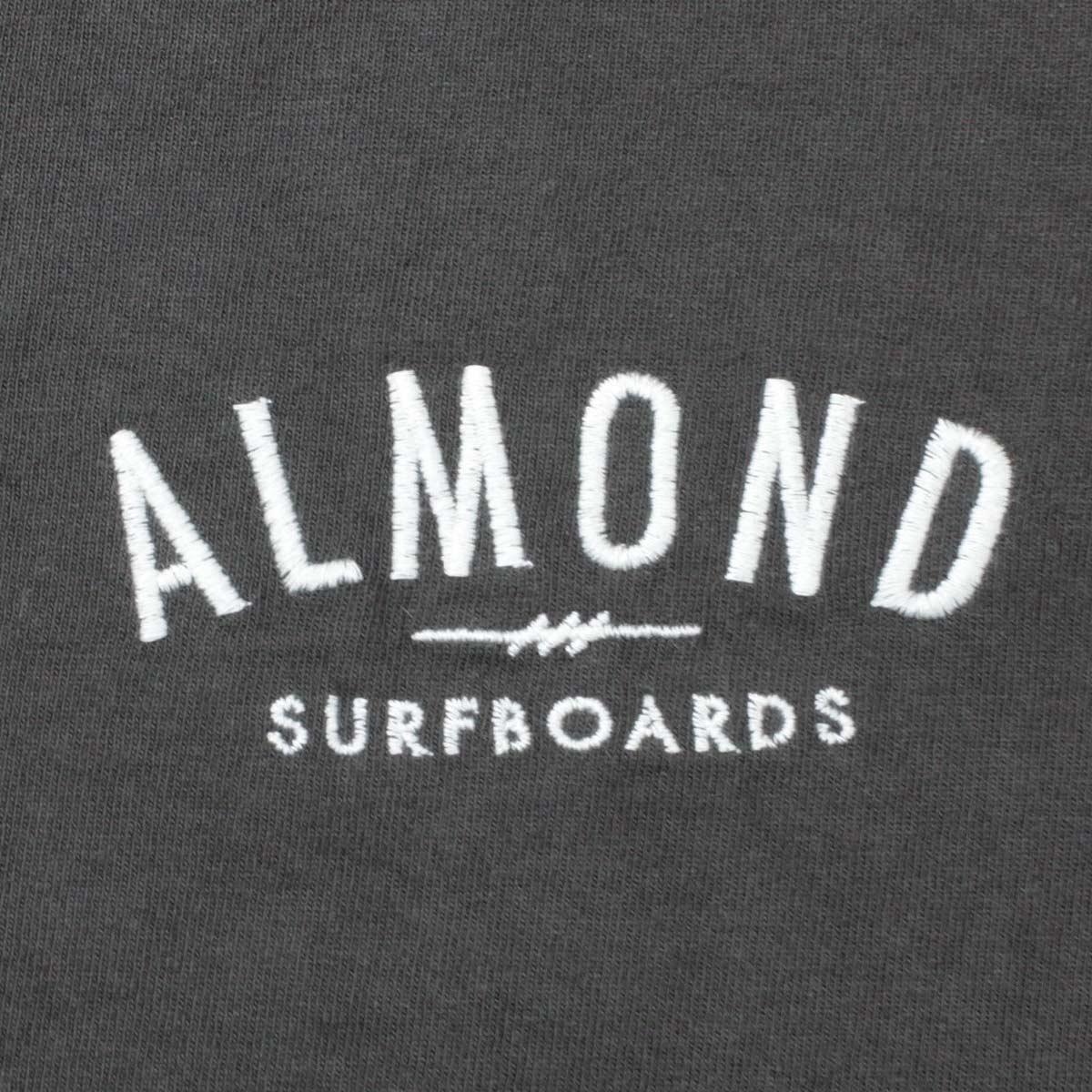 Almond Surf アーモンドサーフボードデザイン FINESURFING EMB L/S TEE