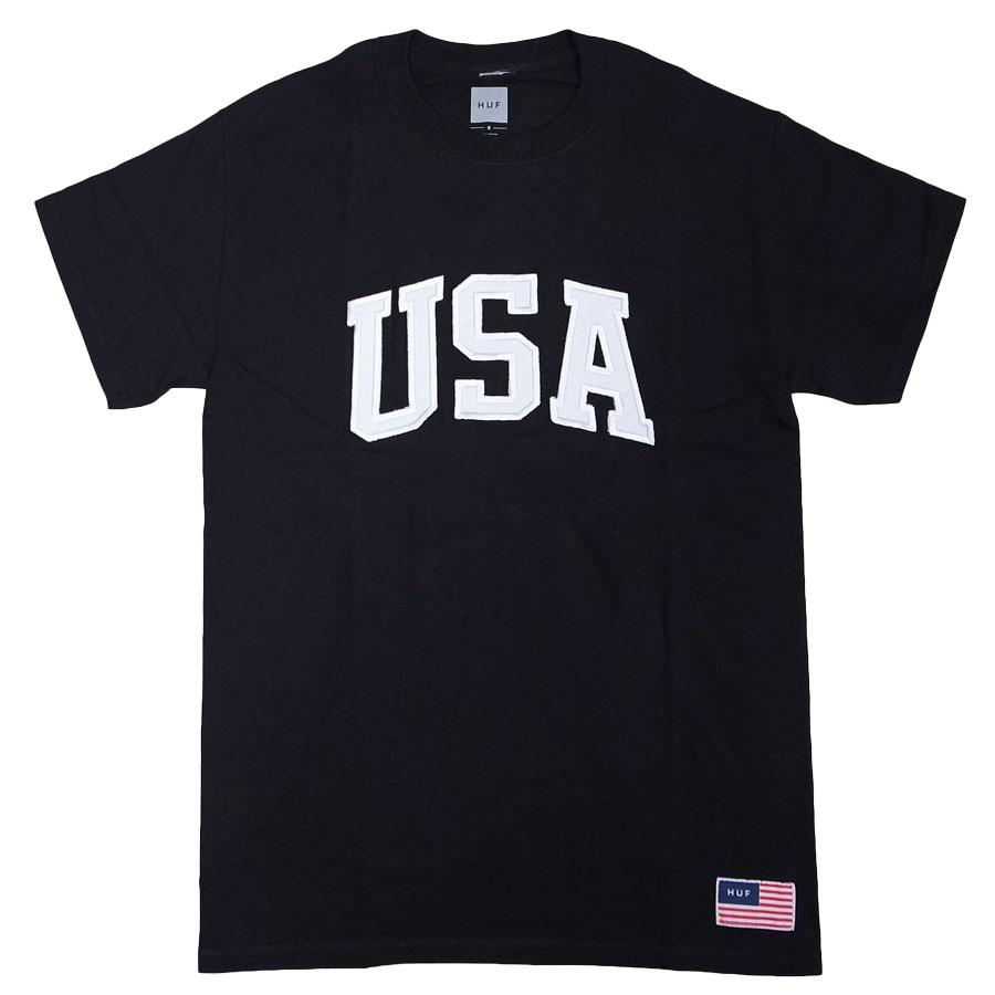 """HUF ハフ """"4TH OF JULY"""" HUF USA TEE"""