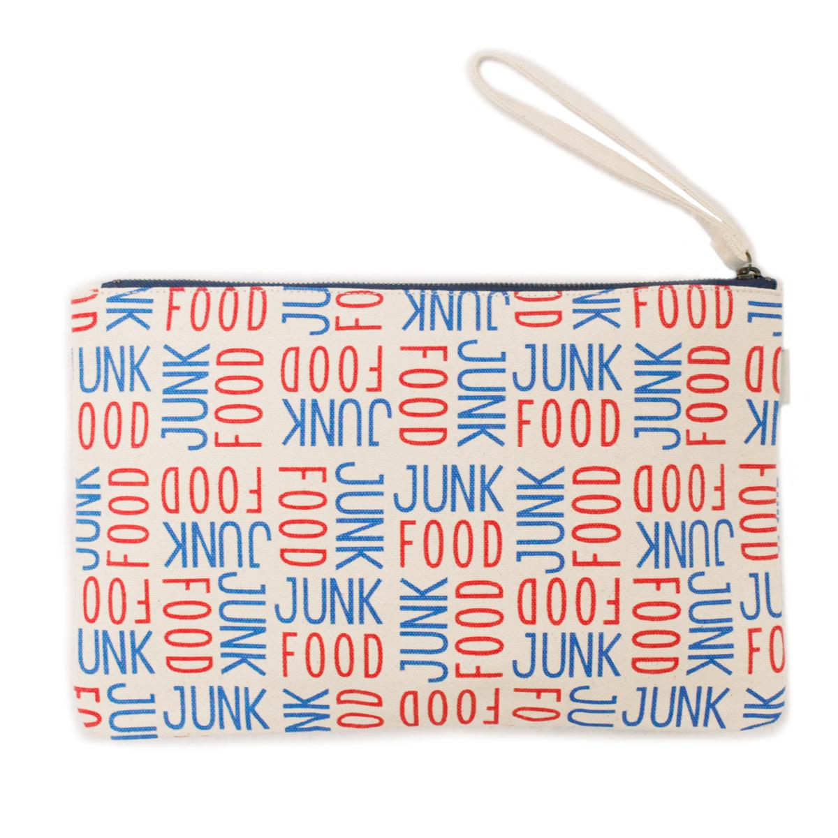 JUNK FOOD ジャンクフード CANVAS CLUTCH