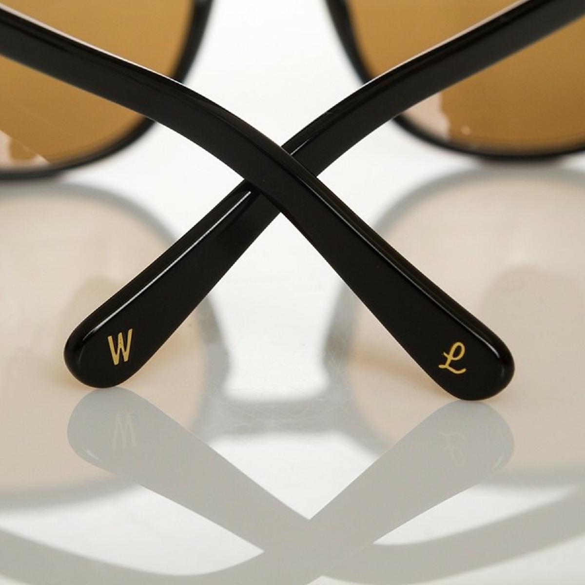 WONDERLAND ワンダーランド サングラス STATELINE Gloss BlackXGray CZ