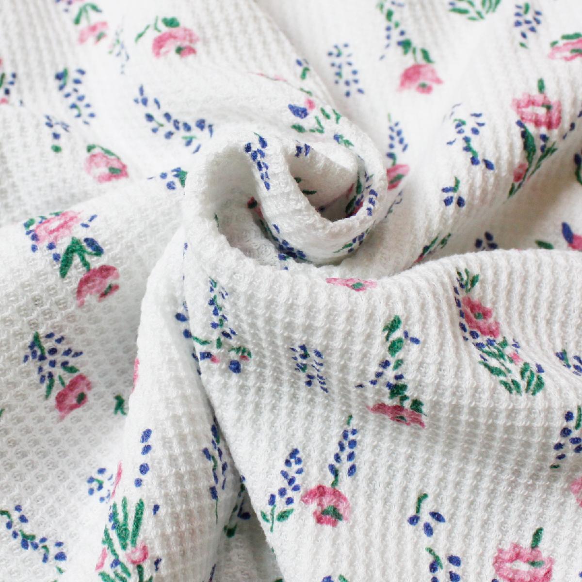 JEMORGAN ジェーイーモーガン 花柄サーマル半袖Tee