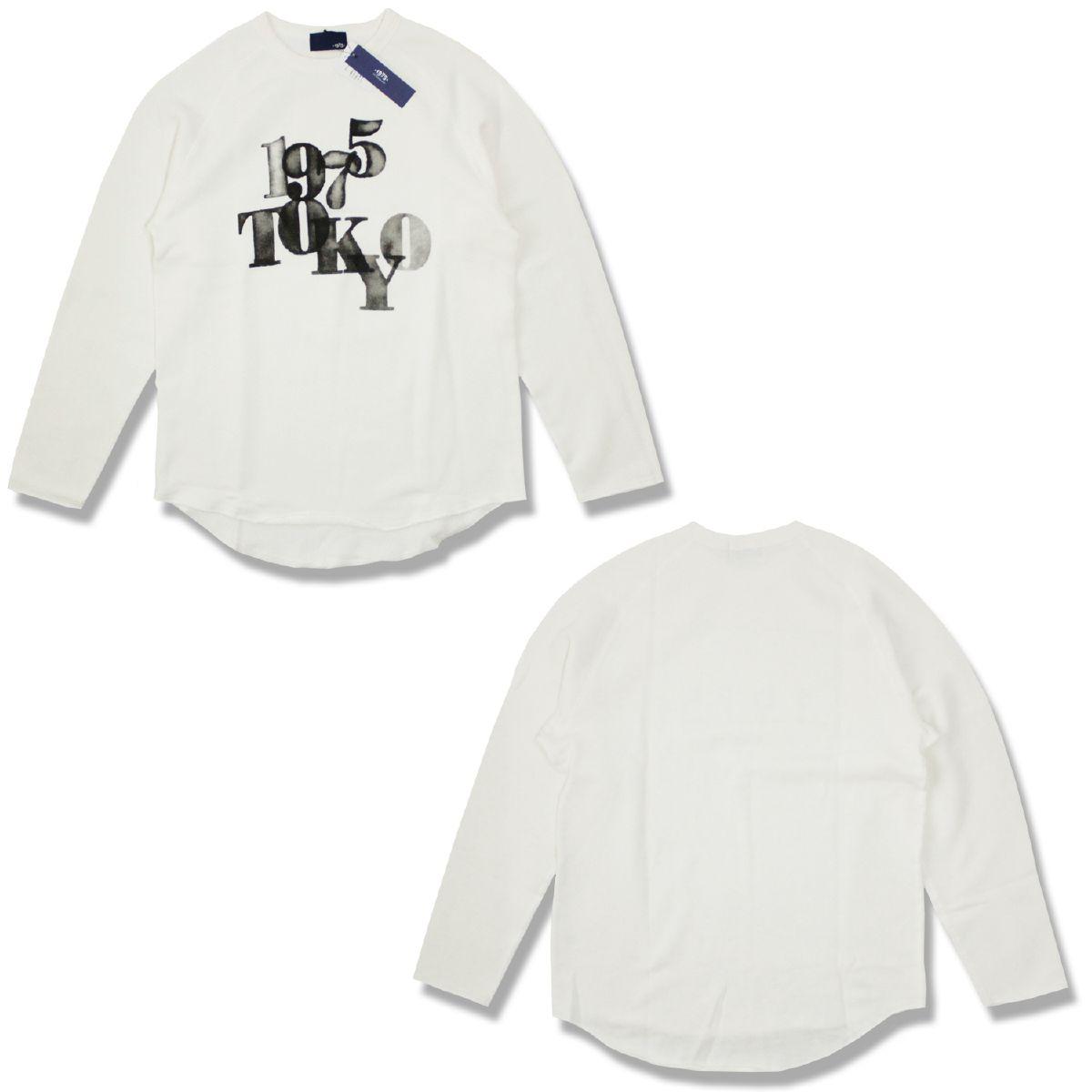 【50%OFF】1975 TOKYO 1975トーキョー MESHPRINT ROUND SWEAT