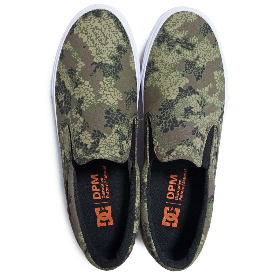DC Shoes ディーシーシューズ DC Shoes × DPM<br>TRASE SLIP-ON